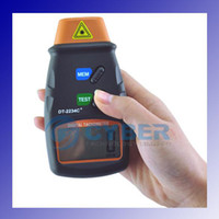 Wholesale Digital Laser Photo Tachometer Non Contact RPM Tach Automatic LCD Displaying High Resolution