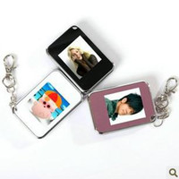 Wholesale 1 inch Mini Digital photo frames electronic albums of Key Ring digital photo frames v22