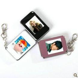 Wholesale 1 inch Mini Digital photo frames electronic albums of Key Ring digital photo frames v22