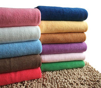 Wholesale 20PC cmx150cm XL Microfiber Bath Sheet Beach Towel Microfibre Towels Absorbent Cloths Drying Cloth