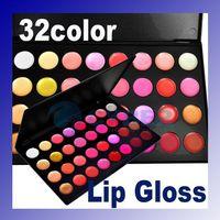 Wholesale Wonderful Professional Pro Colors Lip Gloss Lipsticks Makeup Cosmetic Palette Mineral Oil