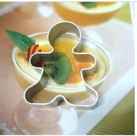 Wholesale snow men Cake Decorations Cookie cutter Cookie tools Cake accessories alloy