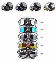 Wholesale New Protect Motor Motorcycle Goggles Colored Sunglasses Scooter Moto Glasses