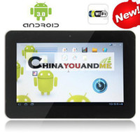 Wholesale 10 quot tablet pc MID Android Capaci wifi Support Flash skype youtube flytouch