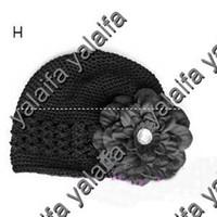 2-4 Years kufi hats - gcfvvg Colors Kufi Hats Crochet Hat Beanie Kufi Caps Knited Beanies With Peony Flowers