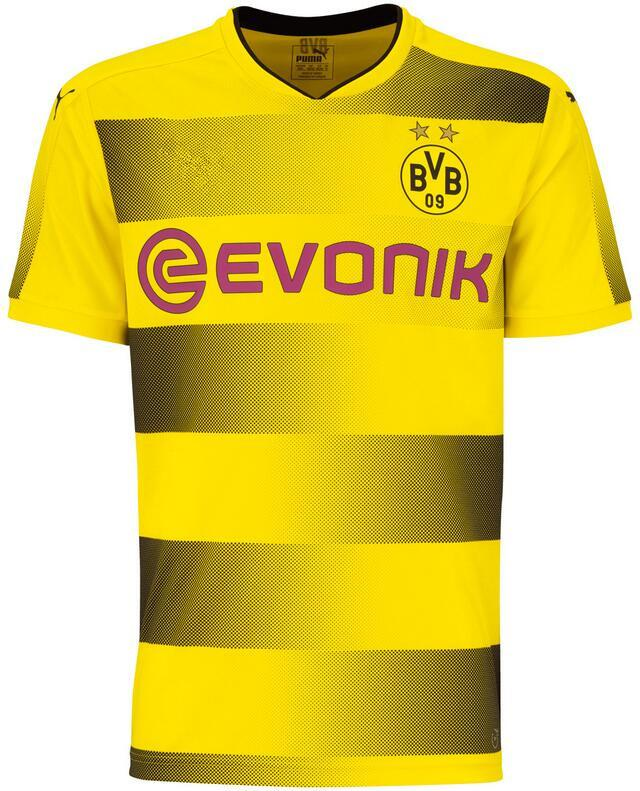 2017 18 Borussia Dortmund home Whosales 17 18 jerseys de football PULISIC de hau
