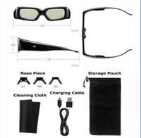 Wholesale 3D TV Active Shutter Compatible Kit Glasses For SHARP D TVs