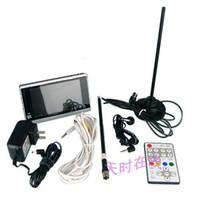 Wholesale ATSC TV Box Digital Handheld inch Color LCD ATSC HDTV Tuner DTV6543 be as set Top Box