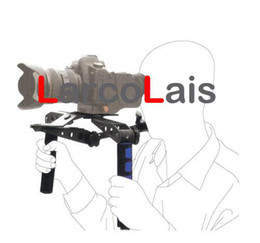 Plates-formes de caméra pour dslr en Ligne-DSLR Rig épaule de montage pour Kit Caméscope Movie Caméra Sony DSR-PD198P NEX-3 NEX-5 NEX5 A580 A560 DV