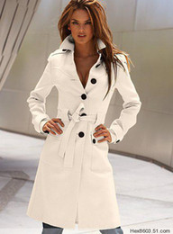 Wholesale Fashion Korea Women s Before and after the open cut Winter Long Coat Clothes Outerwear cun2000