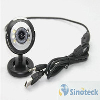 Wholesale 12 mega pixel pc camera built in microphone LED light USB WebCam Webcam Camera