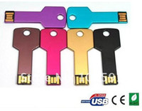 Wholesale waterproof Key USB flash drive with capacity GB GB GB GB GB