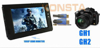 Wholesale 9 Portable media player VGA input with Mini USB VGA line with HDMI input P