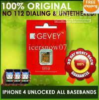 Wholesale SIMF GEVEY UNTETHERED SUPREME PRO PLUS UNLOCK SIM CARD NO DIAL ANY MORE