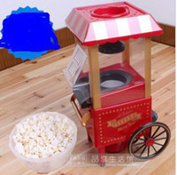 Wholesale HOT Nostalgic OLD FASHION HOT AIR POPCORN MACHINE POPPER POP CORN MAKER MOVIE
