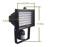 Wholesale Infrared Lamp CCTV camera motion detect camera security flood light from bivictory
