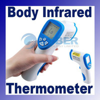 Wholesale Non contact LCD Digital Body Surface Forehead Infrared Thermometer Temperature Gun For Baby