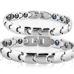 Wholesale Best Selling Magnetic Energy Balance Healthy Bracelet stainless steel Couple bracelet