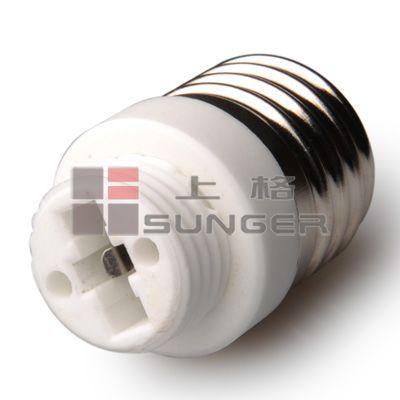Led Halogen CFL light bulb lamp adapter G9~E27 converter New 50pcs
