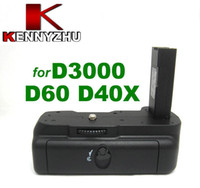 Wholesale Battery Grip Pack For DSLR Nikon D60 D40 D40X D3000 Supporting EN EL9 Easy For Vertical Shooting