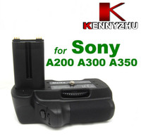 Wholesale Battery Grip Pack For DSLR Alpha A200 A300 A350 Supporting NP FM500H Easy For Vertical Shooting