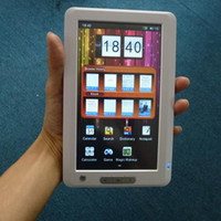 Wholesale Ultrathin PDA E Reader with inch touch panel TFT display MAH battery black white