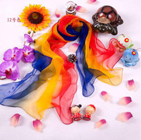 Wholesale 100 Silk Scarf Colorful Women s Scarf New Style Fashion Autumn Style