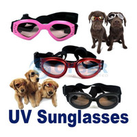 Wholesale Fashion Pet Dog Goggles UV Sunglasses Eye Wear Protection Shatterproof Anti fog Flexible Fit