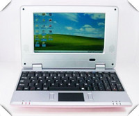 Wholesale Christmas inch mini cheap laptop computer VIA MB Window CE Android OS Tablet