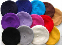 Wholesale wool beret fashion WOOL BERET more than colors in stock wool