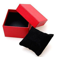Wholesale black red watch gift box Christmas gift box men s women s fashion watch box watch boxes