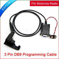 Wholesale Programming Cable for MOTOROLA Radio HT P200 MT800 MTX800 J0029A