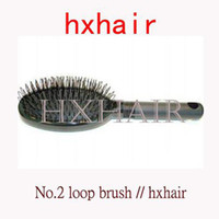 Wholesale 20pcs No Loop Brush for Hair Extension Professional Hair Comb