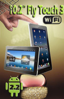 Wholesale 10 quot Flytouch GB M Flytouch3 Android Webcam GPS Tablet PC HDMI Flash hotselling