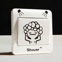 Wholesale Perfect PVC Sticker fashion Home Decoration popular Decorative Sticker GP Power switch cover