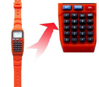 Wholesale Digital student calculator Watches fashion student watch in colors
