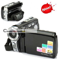 Wholesale Digital Video Camcorder solar Powered inch LCD mp Camera digital zoom X hot item