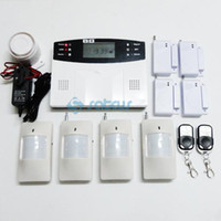 auto dialer gsm home alarm - 2011 New Popular GSM Wireless Burglar Alarm Home Security Systems LCD Auto Dialer sg