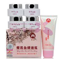 Wholesale Skin lightening professional whitening beauty cream Cherry blossoms cream