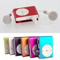 mini mini mp3 - Clip MP3 Player mini usb Earphone Card Reader Function Metal Body portable mini MP3 Player PC