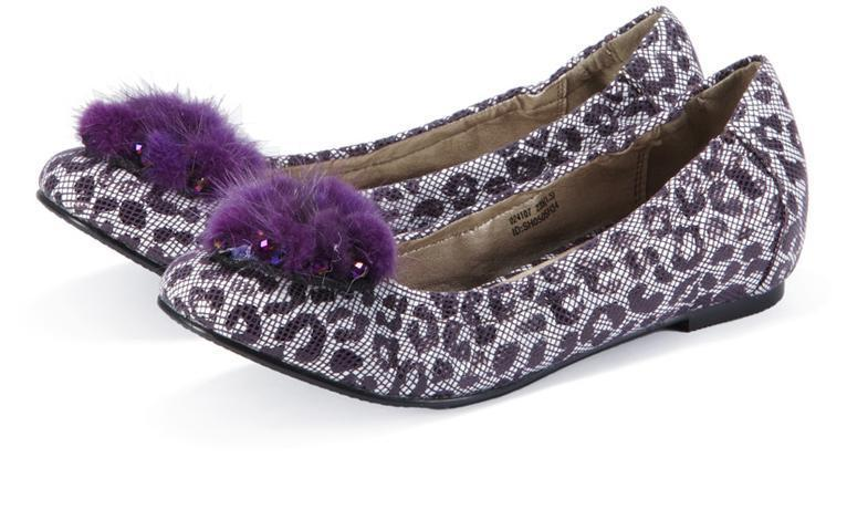 Wholesale - latest color leopard flat shoes