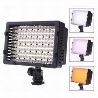 Wholesale Free Ship CN LED Video Light Camera DV Camcorder Lighting K For Canon Nikon