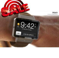 Wholesale Unlocked iwatch i watch K1 video camera WATCH PHONE mobile Quad band Cell phones SPY Christmas