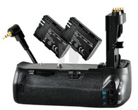 Wholesale meike Battery Grip fr Canon BG E9 EOS D decoded LP E6 from kakacola shop