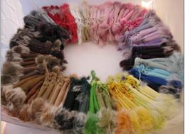 50 pcs Rabbit fur gloves rabbit hair FINGERLESS GLOVE gloves Xmas Rabbit Fur HAND QQ@02