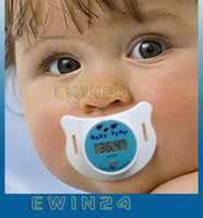 baby pacifier thermometer - Hot Selling Infant Baby Nipple Digital Binky Pacifier Thermometer New Good Quality