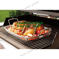 Wholesale Maverick Mesh BBQ Grill Roasting Pan