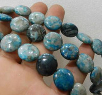 amber gemstone beads - 14x14MM Blue Crazy Lace Agate Gemstone Loose Beads quot