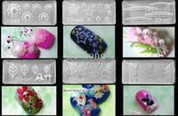 Wholesale s and retails D nail art molds Acrylic Gel nails DIY Nail Art Manicure D crystal