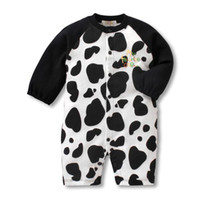 Wholesale baby thick onesies Rompers One Piece Romper animal Long sleeved bay clothing autumn ps